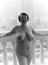 Matures and Grannies Black and White Artistic Nudes