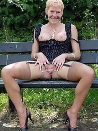 Spanish mature MILFs are revealing their tits
