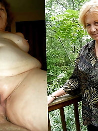 Staggering older mama likes a big boner very much