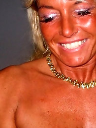 Pretty Fit And suntan light-haired Gilf demonstrates All